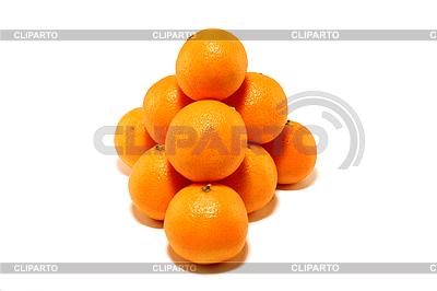 Mała grupa mandarynki | Foto stockowe wysokiej rozdzielczości |ID 3022816