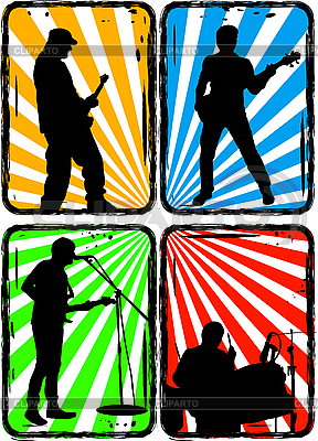 Rock band | Stock Vector Graphics |ID 3022856