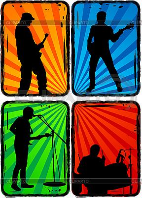 Rock band | Stock Vector Graphics |ID 3022858