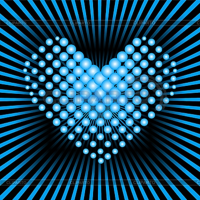 Blue heart | Stock Vector Graphics |ID 3022880