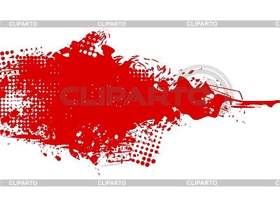 Czerwona plama | Klipart wektorowy |ID 3022886