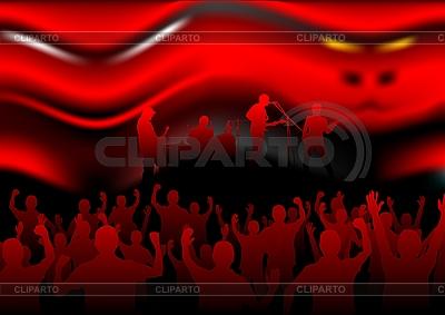 악마의 음악   벡터 클립 아트  ID 3022898