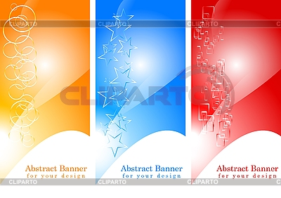 Abstract banners | Stock Vector Graphics |ID 3023025