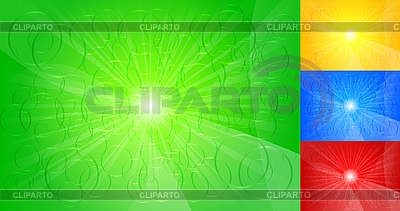 Set of colourful backgrounds | Stock Vector Graphics |ID 3023029