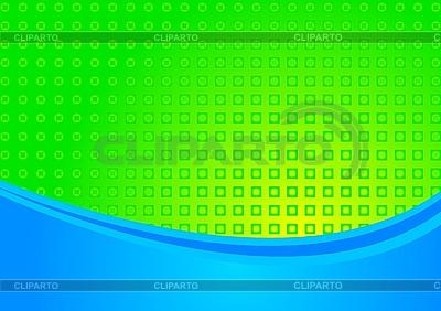 밝은 파란색과 녹색 배경   벡터 클립 아트  ID 3023049