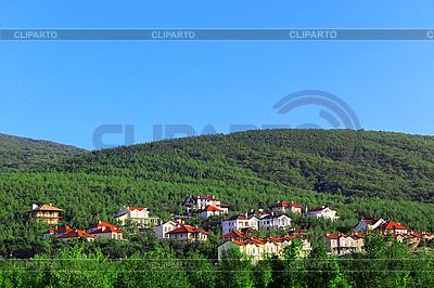 Wiejskie domy | Foto stockowe wysokiej rozdzielczości |ID 3023623