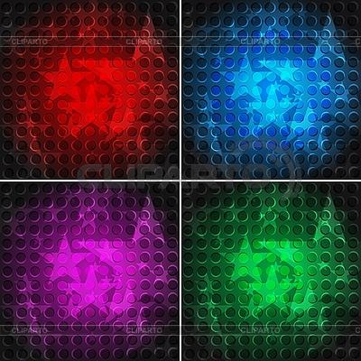 Jasne tło z gwiazdami | Klipart wektorowy |ID 3023952