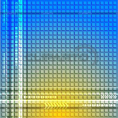 추상 파란색 노란색 배경 | 벡터 클립 아트 |ID 3023955