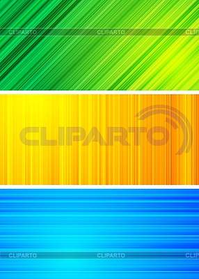 Simple abstract banners | Stock Vector Graphics |ID 3023981