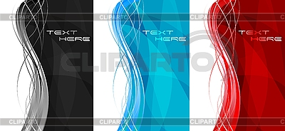 Abstract vertical banners | Stock Vector Graphics |ID 3024043