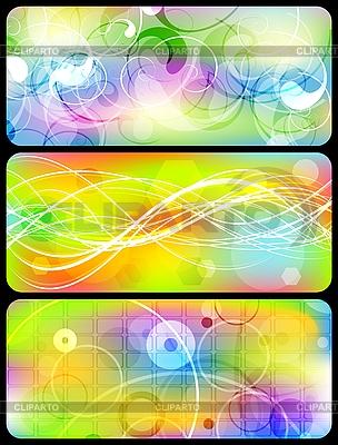 Helle Banner Sammlung | Stock Vektorgrafik |ID 3024073