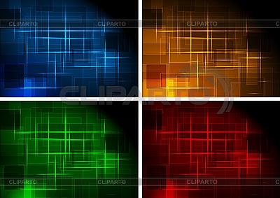 Einfache dunkle Hintergründe | Stock Vektorgrafik |ID 3024171