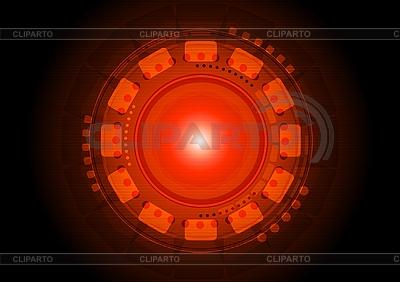 Czarne i czerwone tło   Klipart wektorowy  ID 3024196