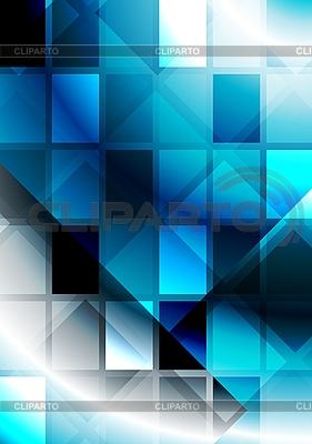 사각형 활기찬 추상화 | 벡터 클립 아트 |ID 3024641