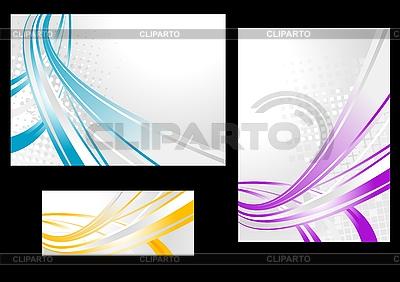 Abstrakcyjne tła i banery | Klipart wektorowy |ID 3024661