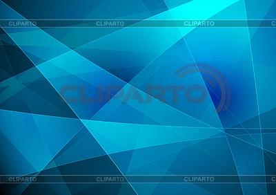 Blauer abstrakter Hintergrund | Stock Vektorgrafik |ID 3024663