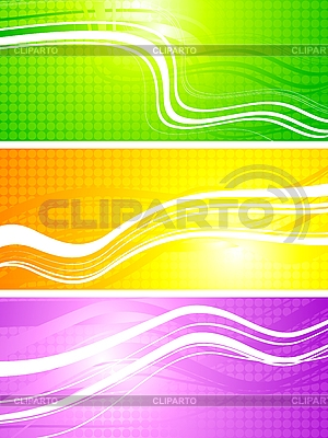 Vibrant abstract banners | Stock Vector Graphics |ID 3024732
