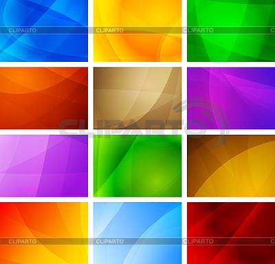 Abstract backgrounds collection | Stock Vector Graphics |ID 3024816