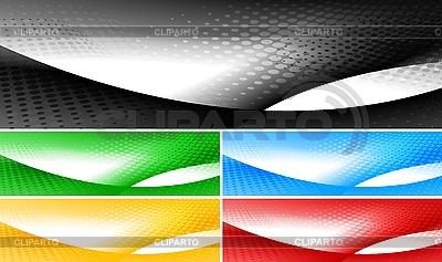 Helle Banner-Sammlung | Stock Vektorgrafik |ID 3024882