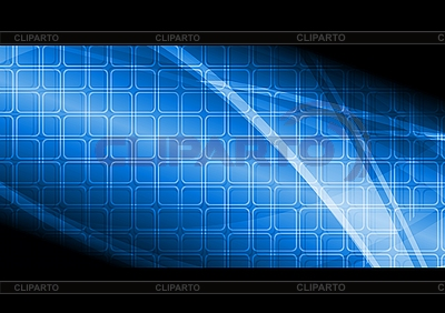 Blue technical banner | Stock Vector Graphics |ID 3024902