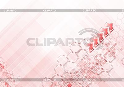 하이테크 추상 분홍색 배경 | 벡터 클립 아트 |ID 3024974