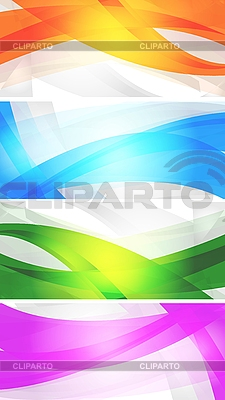 Set of vibrant banners   Stock Vector Graphics  ID 3024988