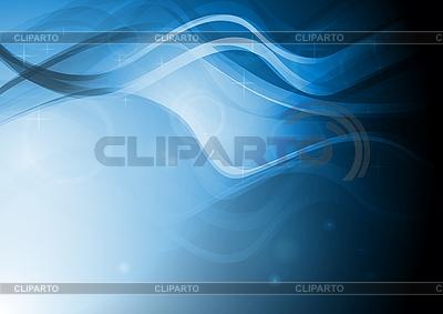 Piękne abstrakcji z fal | Klipart wektorowy |ID 3024992