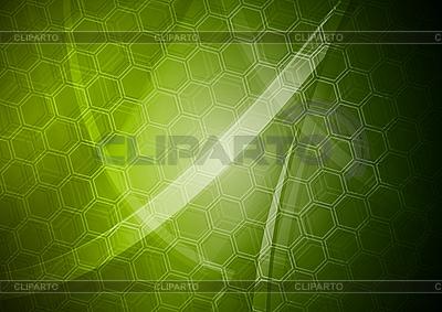 육각 텍스처와 녹색 배경   벡터 클립 아트  ID 3026217