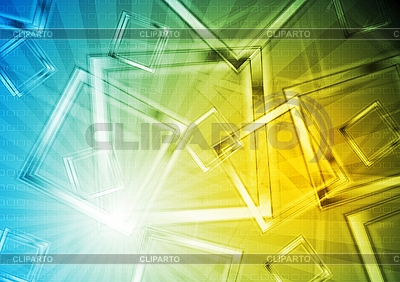 Colourful geometrical backdrop | Stock Vector Graphics |ID 3026544