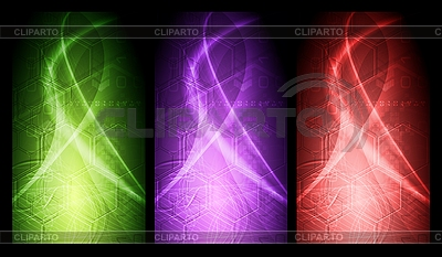 Vibrant banners collection | Stock Vector Graphics |ID 3027840