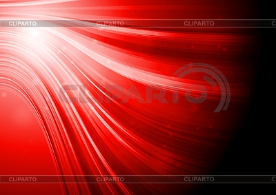 Red elegant waves | Stock Vector Graphics |ID 3027874