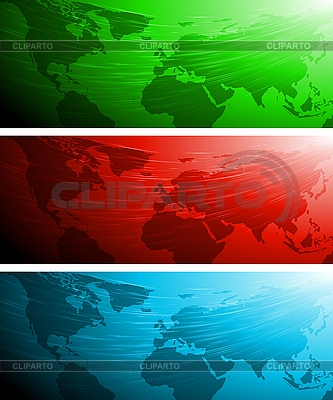 Abstract technical banners | Stock Vector Graphics |ID 3029076