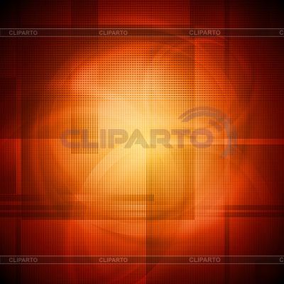Leuchtendes orangefarbenes Design | Stock Vektorgrafik |ID 3029078