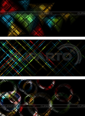 Multicolored banners | Stock Vector Graphics |ID 3029080