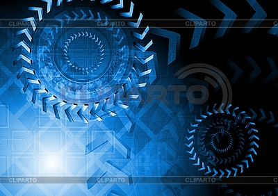 Technical blue design | Stock Vector Graphics |ID 3032415