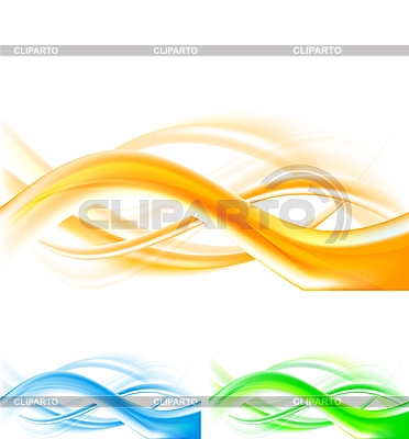 Abstract wavy backgrounds | Stock Vector Graphics |ID 3081966