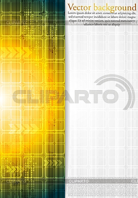 Colorful hi-tech background | Stock Vector Graphics |ID 3107207