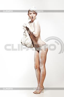 Glamourous emotional white woman | High resolution stock photo |ID 3023087