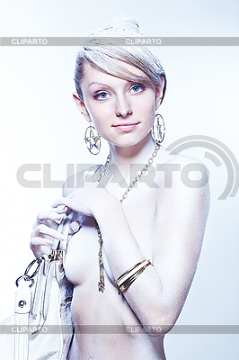 Glamourous white woman | High resolution stock photo |ID 3023100
