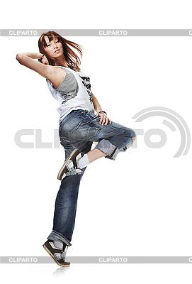 年轻女子跳舞 | 高分辨率照片 |ID 3023921