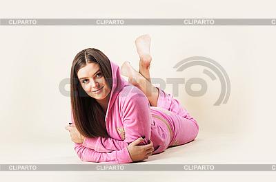 Dziewczyna na różowo | Foto stockowe wysokiej rozdzielczości |ID 3024245