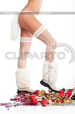 Nogi świąteczne | Foto stockowe wysokiej rozdzielczości |ID 3024249