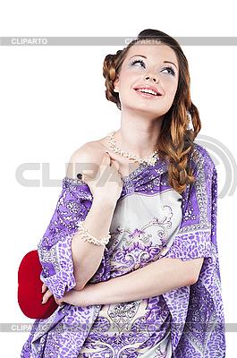 Schöne romantische Frau | Foto mit hoher Auflösung |ID 3024253