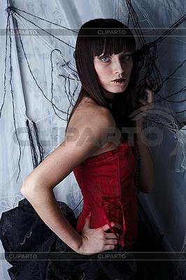Schöne Vampirin | Foto mit hoher Auflösung |ID 3024297
