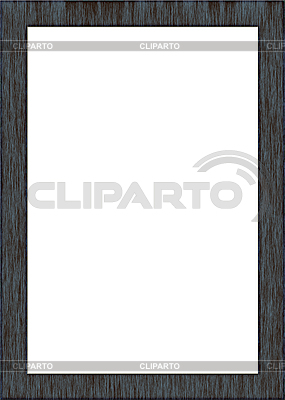 Frame with wood texture | High resolution stock illustration |ID 3023755