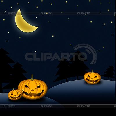 Karta Halloween | Stockowa ilustracja wysokiej rozdzielczości |ID 3024142