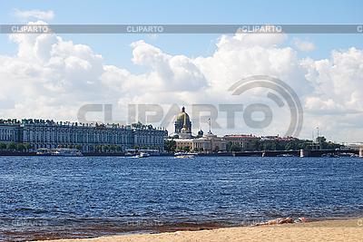 Eremitage und St. Isaak-Kathedrale | Foto mit hoher Auflösung |ID 3025523