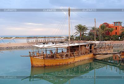 Bar auf dem Wasser in Ägypten | Foto mit hoher Auflösung |ID 3026154