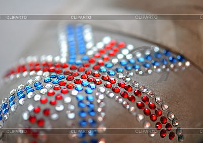 British flag made of rhinestones | High resolution stock photo |ID 3026168