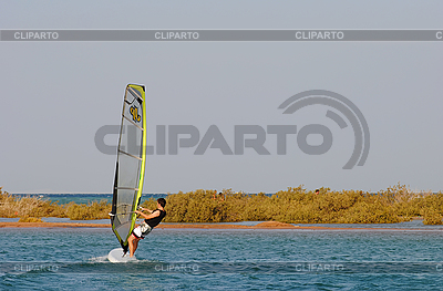 Windsurfing on the Red Sea | High resolution stock photo |ID 3026179